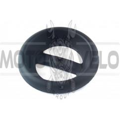 Заглушка глушителя ЯВА 350, 634, 638 (черная) EVO