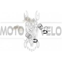 Собачки храповика стартера б/п   для Goodluck GL4500/5200 (пара)   (+пружины, стопорное кольцо)   BEST   (mod.A), пара