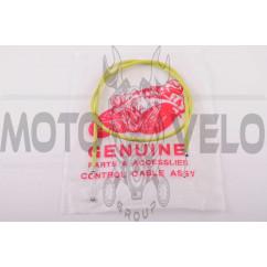 Трос газа КАРПАТЫ (1050mm, уп.1шт, желтый) JING (mod.A)