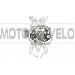 Головка цилиндра   4T CG125   (+клапаны)   KOMATCU   (mod.A), компл.
