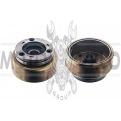 Магнит генератора (ротор)   4T CB125/150   KOMATCU   (mod.A)