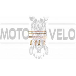 Шпильки цилиндра (4шт)   4T CG125/150   (+гайки)   KOMATCU   (mod.A), компл.