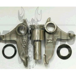 Коромысло клапанов (рокер) (нижний)   4T CG125/200   (+вал) (комплект)   JH   (mod:A)