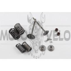 Клапаны (пара, в сборе) 4T CG150 (L-92mm)