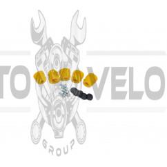 Демпферные резинки б/п   для Goodluck GL5200   (5шт)   (желтые, полный комплект)   EVO