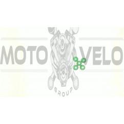Демпферные резинки б/п   для Goodluck GL5200   (5шт)   (зеленые)   EVO