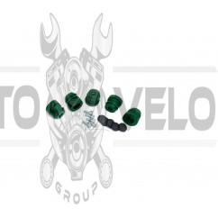 Демпферные резинки б/п   для Goodluck GL5200   (5шт)   (зеленые, полный комплект)   EVO