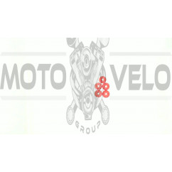 Демпферные резинки б/п   для Goodluck GL5200   (5шт)   (красные)   EVO