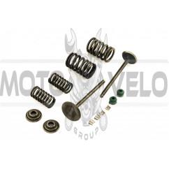 Клапаны (пара, в сборе) 4T CG200 (L-90mm)