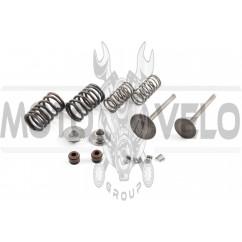 Клапаны (пара, в сборе) 4T GY6 125 (L-65mm) BF