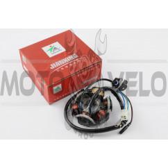 Статор генератора 4T GY6 125/150 (5+1 катушек) JIANXING