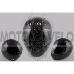 Шлем-интеграл (mod:CFP05) (size:XL, черный, воротник) TVD