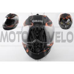 Шлем-интеграл (mod:HAWK) (size:L, черный матовый) YMH