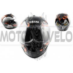 Шлем-интеграл (mod:HAWK) (size:L, черный) Ш5 YMH