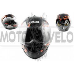Шлем-интеграл (mod:HAWK) (size:XL, черный) Ш7 YMH