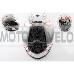 Шлем-интеграл (mod:HAWK) (size:XXL, белый) Ш13 YMH