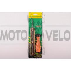 Напильник бензопильный Ø5,2mm (+планка +ручка) SAFELY