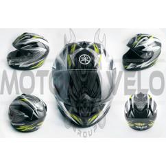 Шлем-интеграл (mod:EDGE) (size:ХL, черный) YMH