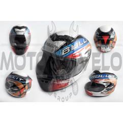 Шлем-интеграл (mod:Q1) (size:L, мультиколор) (mod:2) BULLIT