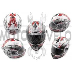 Шлем-интеграл (mod:OP01) (size:L, белый) HONZ