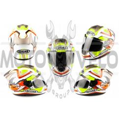 Шлем-интеграл (mod:G346) (size:L, белый) GSB