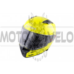 Шлем-интеграл (mod:FF324) (size:ХL, желтый, METRO) LS-2