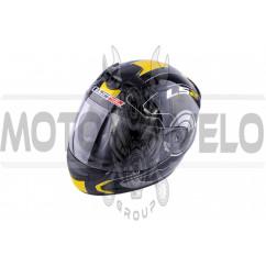 Шлем-интеграл (mod:FF352) (size:XXL, черно-желтый, ROOKIE ATMOS) LS-2