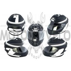 Шлем-интеграл (mod:FF352) (size:XXL, черный) LS-2