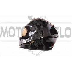 Шлем-интеграл   (mod:B-500) (size:XL, черный)   BEON, шт