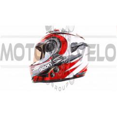 Шлем-интеграл   (mod:B-500) (size:L, черно-серо-белый)   BEON, шт