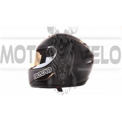 Шлем-интеграл   (mod:B-500) (size:L, черно-коричневый)   BEON, шт
