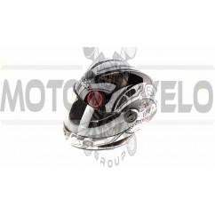 Шлем-интеграл   (mod:B-500) (size:M, черно-белый)   BEON