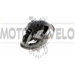 Шлем-интеграл   (mod:FF352) (size:XXL, бело-черный, ROOKIE ONE)   LS-2
