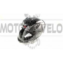Шлем-интеграл   (mod:FF352) (size:L, черно-белый, ROOKIE GAMMA)   LS-2