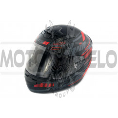 Шлем-интеграл   (mod:FF352) (size:XXL, черно-серый, ROOKIE)   LS-2, шт