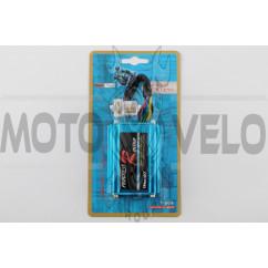 Коммутатор (тюнинг) CG 125-150 (аналоговый, синий) PROGRES RACING
