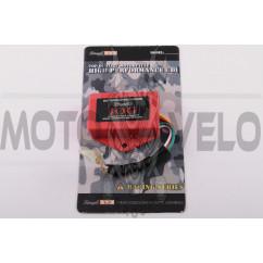 Коммутатор (тюнинг) Yamaha JOG 3KJ, 2T Stels 50 (красный) STAGE-9