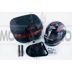 Кофр пластмассовый   (+шлем)   EVO