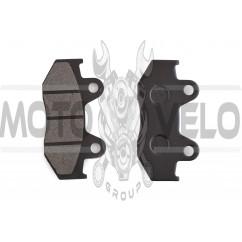 Колодки тормозные (диск) 4T GY6 50-150