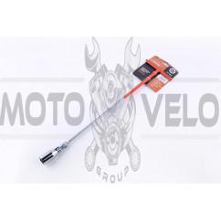 Ключ свечной 21 мм (удлиненный) LAVITA (#503)