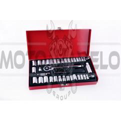Набор торцевых головок 40 предметов (mod.3012 D-Tools) LAVITA