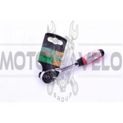 Ключ-трещотка с реверсом 1/4 (mod.1702 D-Tools) LAVITA