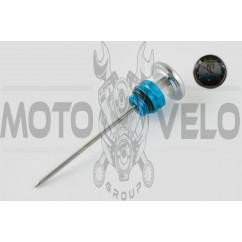 Щуп масла Ø19.0mm, L-137mm (+датчик температуры) (синий) RIDE IT