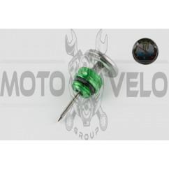 Щуп масла Delta Ø19.0mm, L-75mm (+датчик температуры) (зеленый) RIDE IT
