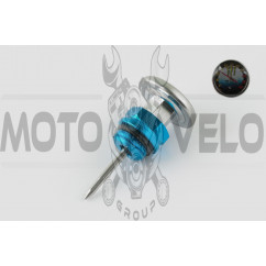 Щуп масла Delta Ø19.0mm, L-75mm (+датчик температуры) (синий) RIDE IT