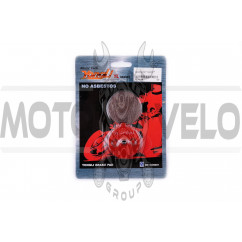 Колодки тормозные (диск) Suzuki GP125 (красные) YONGLI