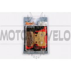 Колодки тормозные (диск) Active (желтые) YONGLI PRO