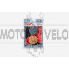 Колодки тормозные (диск) Suzuki GP125 (желтые) YONGLI PRO