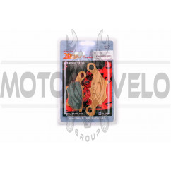 Колодки тормозные (диск) Yamaha JOG SA16 (желтые) YONGLI PRO