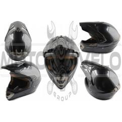 Шлем кроссовый (mod:803) (карбон) SNAUZER